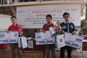 Kompetisi Sains Matematika Realistik - Bimbel Tridaya 2